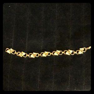 "7"" Beautiful Bracelet Pearl Type & Diamond Stone"